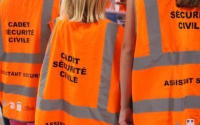Des cadet-te-s de la sécurité civile au collège l'Oriette à la rentrée 2018-2019 !